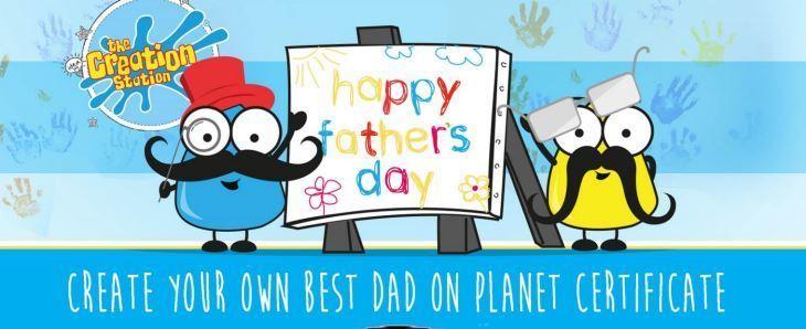 Create your best dad certificate