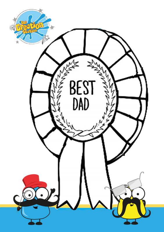 Fathers day best day certificate