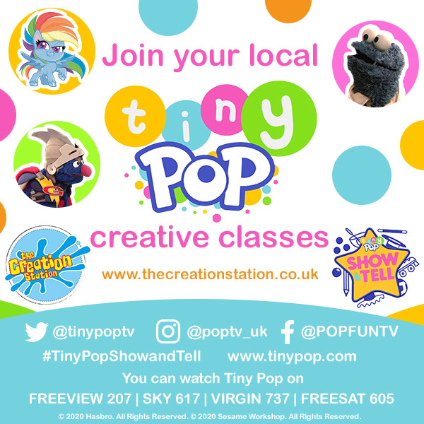 Kids classes Tinypop creation station classes