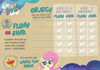 My Little Pony Float or Sink
