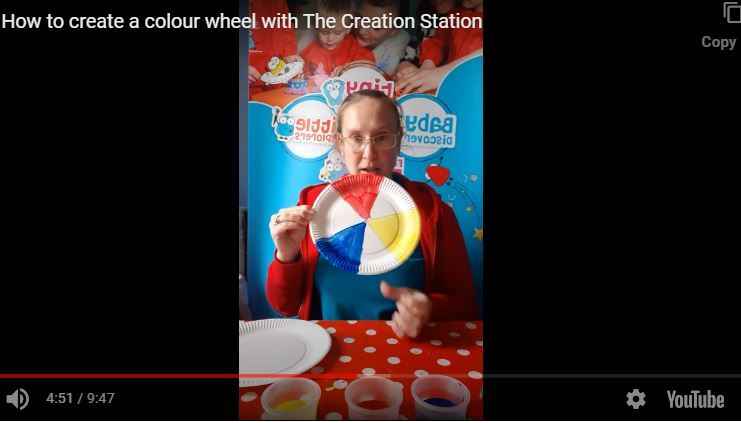 How to create a colour wheel with The Creation Station