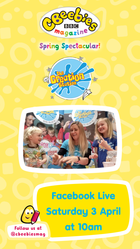 CBeebies Spring spectacular with Creation Station