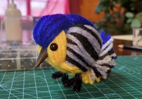 How to make a bird from yarn