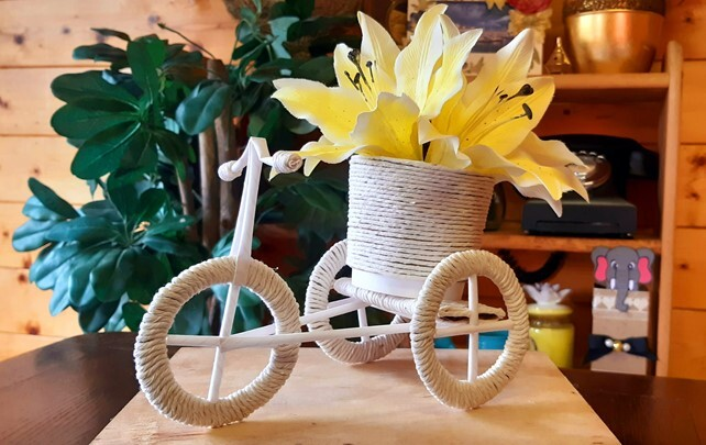 How To Make A Miniature Bicycle