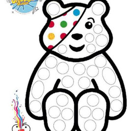 Pudsey Colouring in sheet  - Children in Need