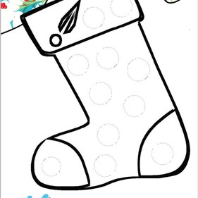 Day 18- Stocking Template | The Creation Station