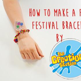 How To Make A Children's Summer Festival Bracelet