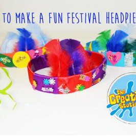 How To Make A Fun Low Cost Festival Headband