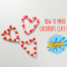 How To Make A Children's 3D Clay Heart