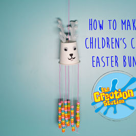 How To Make A Children's Easter Bunny #MakeItMonday