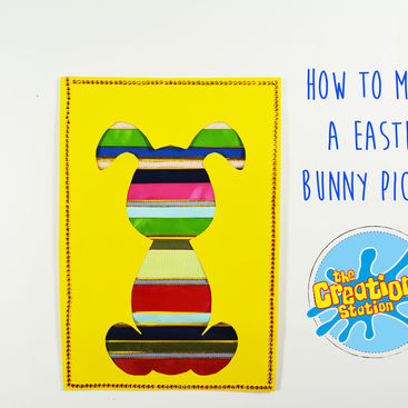How To Make An Easter Bunny Picture