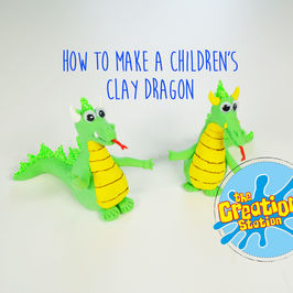How To Make A Children's Clay Dragon