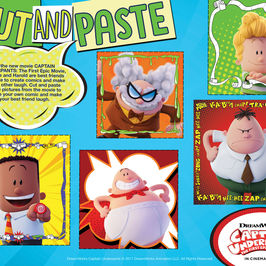 Captain Underpants Activity Sheet and more!