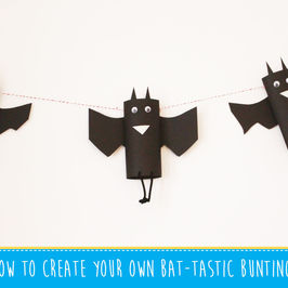 How to create your own Bat-Tastic Bunting!