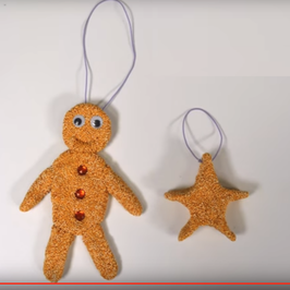 Day 8 - How To Make A Children's Clay Gingerbread Man