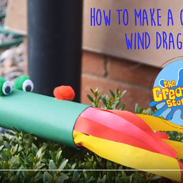 How to create your own Childen's Craft  Wind Dragon
