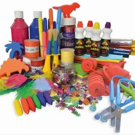 Fun art and craft activities are provided with safe, reliable, tried and tested products.