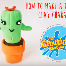 How To Make A Children's Clay Character #MakeItMonday