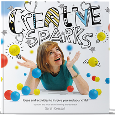 Get an early bird offer on the new book Creative Sparks