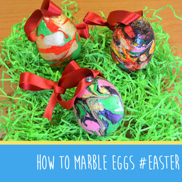 How to marble eggs #MakeItMonday