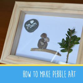 How to turn pebbles in to art | The Creation Station brings you #Makeitmonday