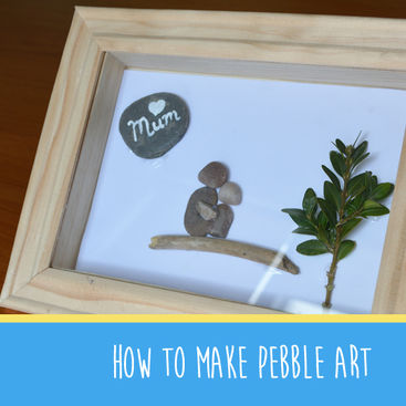 How to turn pebbles in to art   The Creation Station brings you #Makeitmonday