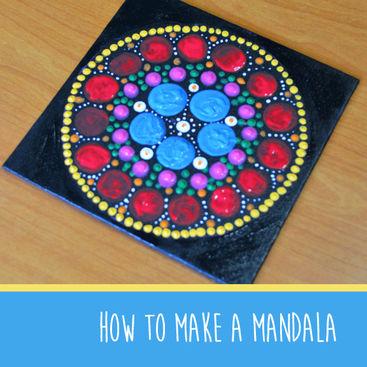 How to make a mandala #MakeItMonday