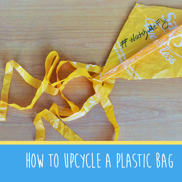 How to upcycle your plastic bag #MakeItMonday