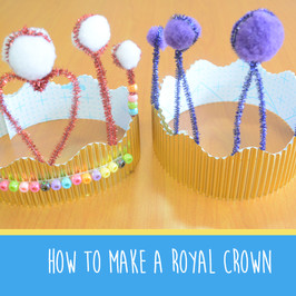 Royal Wedding Crafts for at home with our #MakeItMonday