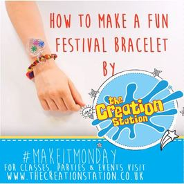 #MakeitMonday Festival Bracelets And How To Make Them!