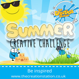Kids Summer Creative Challenge | The Creation Station