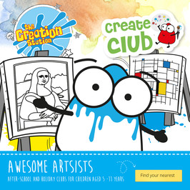 CREATIVE AWESOME ARTISTS SCHOOL WORKSHOPS  AND CLUBS