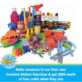 Love to receive £250 worth of crafts for your nursery, school or child care setting?