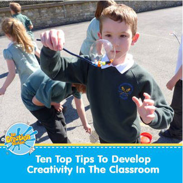 Top ten tips to increase creativity in the classroom