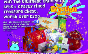 Win The Ultimate Arts and Crafts Treasure Chest worth over £200.00