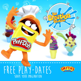 Free Play-Doh & Creation Station Workshops with Smyths Toy Stores this September