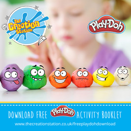 Free kids activity Play-Doh downloads and activities