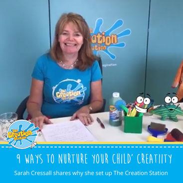 9 ways to develop your child's creativity
