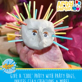 The Creation Station Cool Arty Party activity option