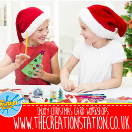 Christmas  Cards Making Workshops Near Me