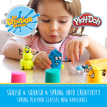 Fun and educational kids classes with Creation Station and Play-Doh