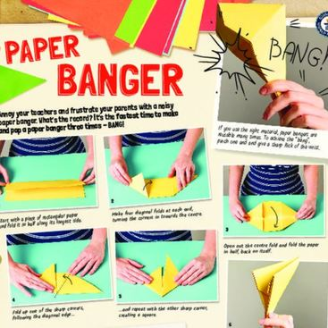 how to make a bang with paper