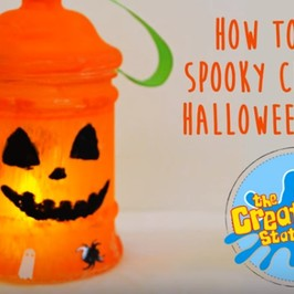 It's #MakeitMonday | Let's make a Spooky Halloween Lantern