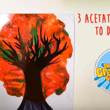 3 Acetate crafts to do at home this winter!