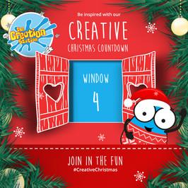 The Creation Station Crafty Christmas Advent - Day 4 Festive Photo Frame
