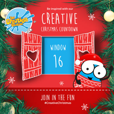 The Creation Station Crafty Christmas Advent - Day 16 Fantastic Fingerprint Robins