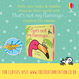 That's not MY Flamingo... take over The Creation Station!