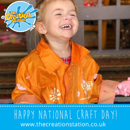 Happy National Craft Day! | A chance to WIN with the Creation Station