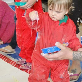 Creation Station brings Arts into Science, Technology, Engineering and Maths to inspire preschool children.