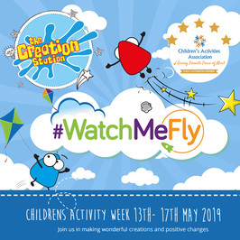 Watch Me Fly & The Creation Station get crafty for a good cause   Raising vital funds for Caudwell